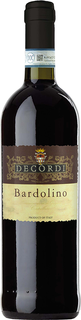 Decordi, Bardolino DOC